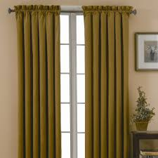 eclipse curtains canova blackout drapes and valance set in gold