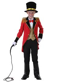Halloween Costumes Boys Child Ringmaster Costume