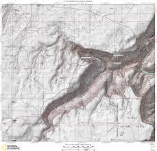 Map Grand Canyon South Canyon Map Grand Canyon