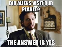 Giorgio Tsoukalos Aliens Meme - did aliens visit our planet the answer is yes giorgio tsoukalos