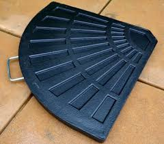 Patio Umbrella Wedge Crossover Stand Base Weights For Offset Umbrellasquality Patio