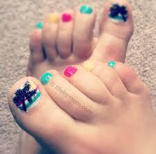 nail art palm tree toenail art design life by mom art toes