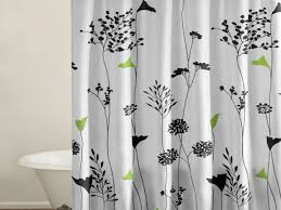 Overstock Curtains Bathroom Designs Cute Bathroom Feat Lime Green Accents Wall Paint