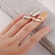 personalized rings for personalized ring selling metal texture fashion nail ring gold