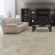 Floor 60 by Dublin Ivory 44x44cm Floor Tile