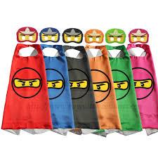 lego ninjago halloween costume us 3 5 ninjago party capes with masks ninjago birthday ninjago