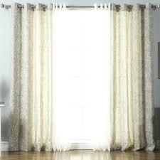 Semi Sheer Curtains Semi Sheer Curtains Canada Paisley Grommet Curtain Panels Oaks