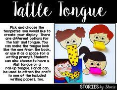 A Bad Case Of The Tattle Tongue Julia Cook Hand Drawn Tattle Tongue Coloring Page