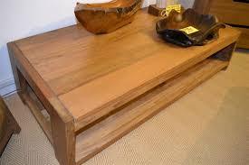 extending a teak coffee table medium teak coffee table