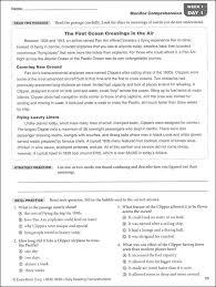 reading comprehension worksheets grade 8 free worksheets library