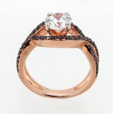 Rose Gold Wedding Ring Sets by Chocolate Diamond Wedding Ring Sets Inspirational Unique Infinity