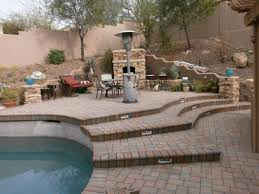 patio exles paver installation and rustic finish natural flagstone patio