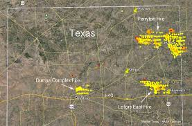 map ok panhandle three fires in panhandle burned 400 000 acres