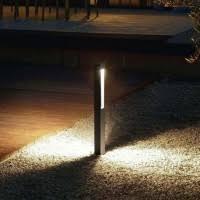 Landscape Bollard Lights Landscape Lighting Landscape Path Deck Lights At Lumens