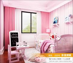Bedroom Pink And Blue Girls Room Pink And Blue Stripe Wallpaper And Papel De Parede Kids
