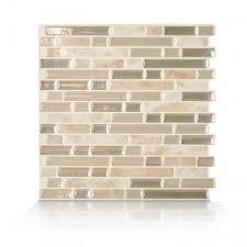 Backsplash Stick On Tiles by Bellagio Sabbia Peel And Stick Tile Backsplash Online Shop