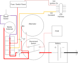 wiring diagram for a battery disconnect ls1tech camaro and