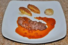 gastrique cuisine chef jd s cuisine forcemeat encrusted boar