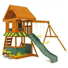 Wooden Backyard Playsets 9 Best Wooden Swing Sets In 2017 Sturdy Wooden Outdoor Playsets