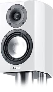 canton home theater canton vento 820 2 2 way 6in bookshelf speaker white gloss pair