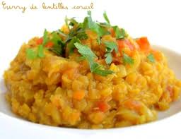 cuisiner lentille curry de lentilles corail dahl