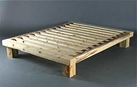 Tatami Platform Bed Frame Tatami Platform Bed Dharmacrafts Meditation Supplies King Size