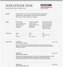 Free Editable Resume Templates Resume Examples Great 10 Free Download Editable Resume Template