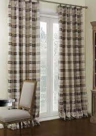 Plaid Blackout Curtains Twopages Premium Country Classic Check Plaid Cotton Lined Curtain