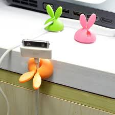 Magnetic Desk Organizer Desk Earphone Micro Type C Usb Cable Winder Magnetic Clip