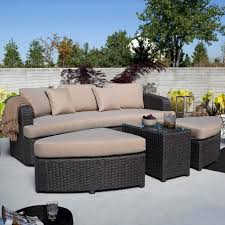 raunaq astonishing outdoor sofa with chaise for design ideas