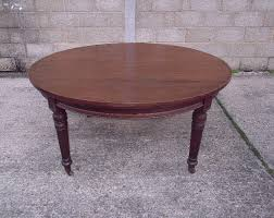 Antique Boardroom Table Large Antique Round Table Late Victorian 5ft Diameter Mahogany