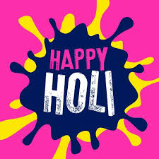 color of happy happy holi color splash vector background download free vector art