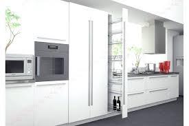 cuisine colonne cuisine placard coulissant meuble cuisine colonne frigo amenagement