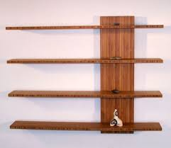 Bookcase Shelf Brackets How To Build Homemade Wooden Floating Shelves New Home Ideas