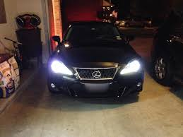 lexus isf model year differences 2011 isx50 headlights vs 2012 isx50 headlights differences
