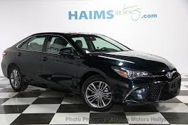toyota camry 2017 used toyota camry se automatic at haims motors serving fort