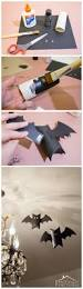 turn empty cardboard tubes into super cute bat decorations for