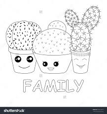 cactus coloring pages coloring page