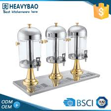 heavybao samples are available buffet ware cold juice faucet cola