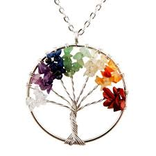 diy necklace charms images Tree of life pendant for necklace amulet crystal jpg