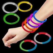 glow bracelets custom glow bracelets branded printed glow in the