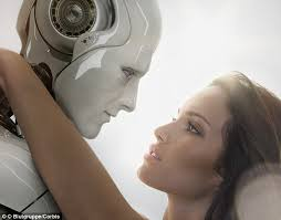 Seeking Robot Date Would You Date A Robot One In Four Claim They Would Daily Mail