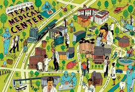 Maps Houston Medical Map Houston Medical Center Michael Byers