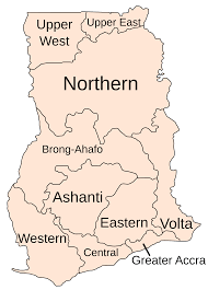 Map Of Ghana File Clickable Regions Of Ghana Svg Wikimedia Commons