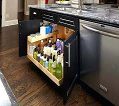 Pull Out Shelves For Kitchen by Shelves Under Kitchen Sink Pull Out Shelf Under Sink Pull Out
