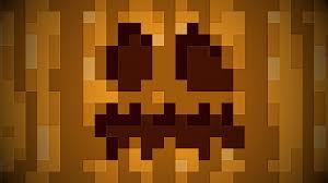 minecraft pumpkins wallpaper