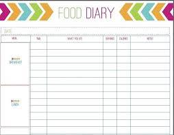 printable daily food intake journal food intake log gidiye redformapolitica co