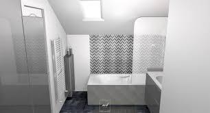salle de bain dans chambre sous comble chambre et salle de bain sous combles mh deco