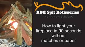 how to light a fireplace in under 90 seconds without matches or