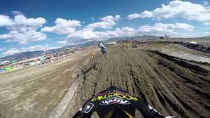 pro motocross championship gopro hd joey savatgy lap 1 moto 2 utah mx lucas oil pro